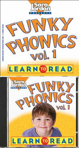 Funky Phonics: Learn to Read, Vol. 1 (Book & CD) (Sara Jordan - Short Vowel Worksheets
