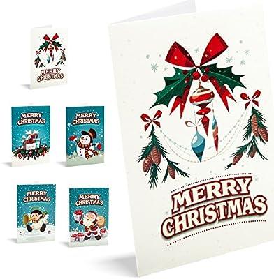 Felicitaciones De Navidad Unicef Merry Christmas. Pack 10 unidades ...