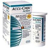 ACCU CHEK Active Test Strips 50 Sheets Diabetics