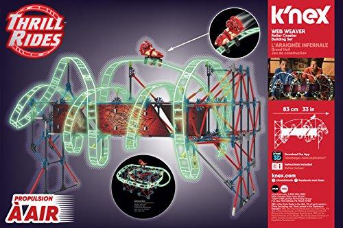 K'NEX Thrill Rides Web Weaver Roller Coaster Building Set (439 Piece)