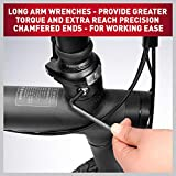36-Piece Allen Wrench Set, Long Arm Ball End Hex