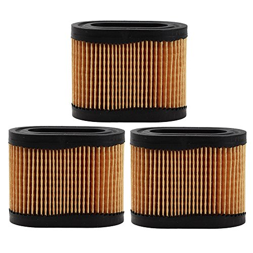 Panari (Pack of 3) 36745 Air Filter for Tecumseh LEV115 LEV120 OVRM60 OVRM105 TVS90 (2-3/4-inch x 1-3/4-inch x HT 2-1/8-inch) -