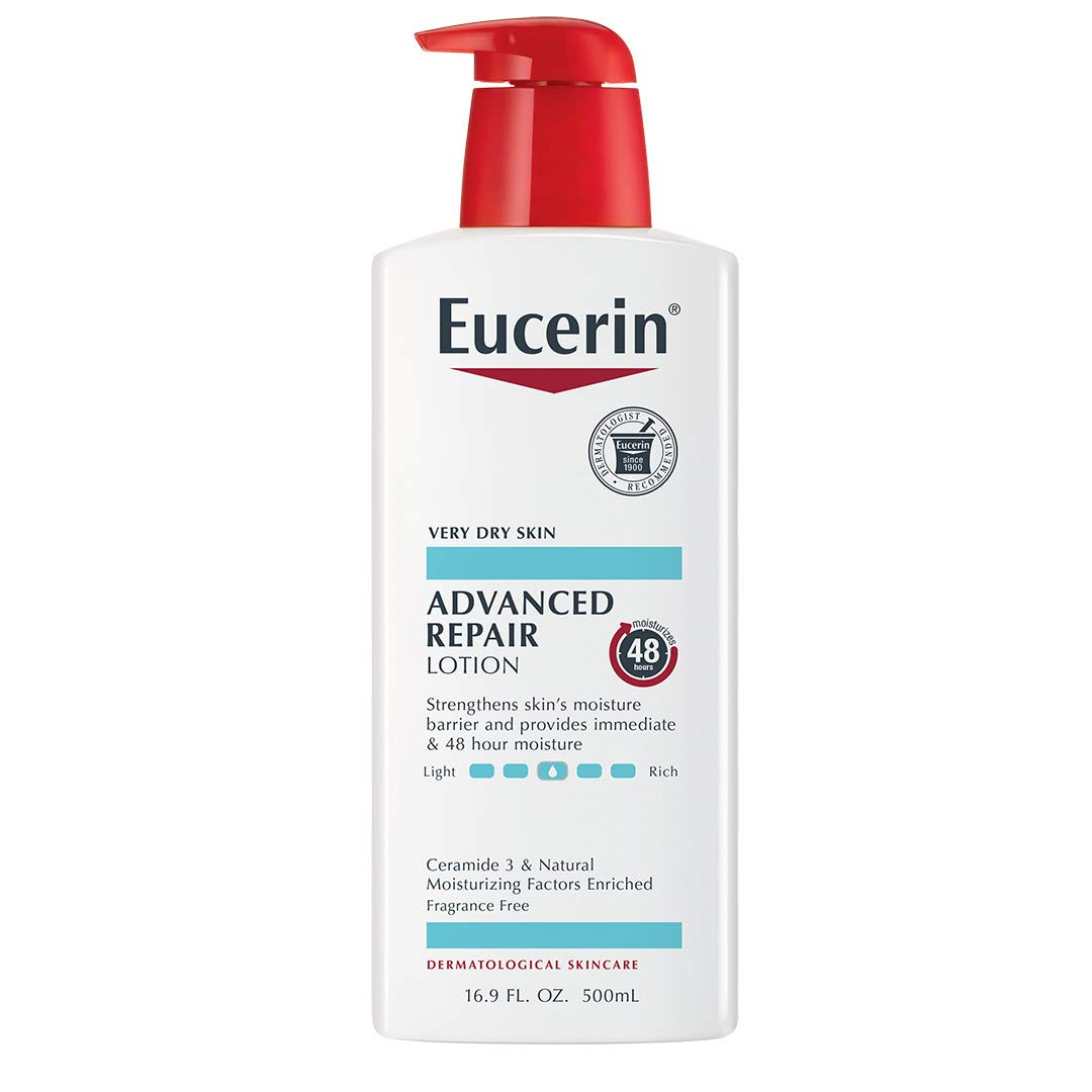 Eucerin Smoothing Repair Dry Skin Lotion, 16.9 Ounce (Pack of 3)