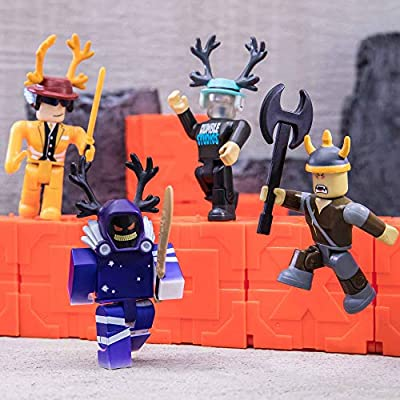 Roblox Action Collection - Series 6 Mystery Figure 6-Pack [Includes 6 Exclusive Virtual Items]: Toys & Games