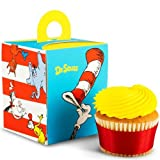 Dr. Seuss Classic Book Characters Cupcake Boxes 4 Pack