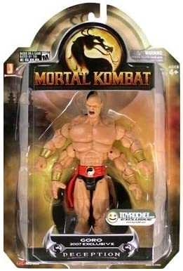 Amazon Com Mortal Kombat Shaolin Monks Goro Puzzlezoo Exclusive
