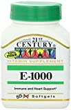 21st Century Vitamin E 1000Iu 55 Count (6 Pack)