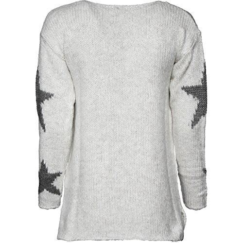 KEY Largo Damen Pullover Inspire Offwhite