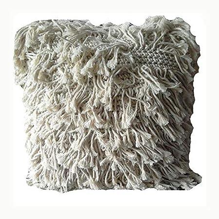 KARMABCN Macrame Cushion Pillow Cover Boho Decorative
