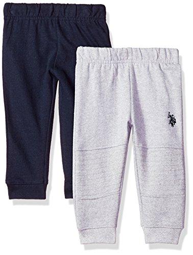 U.S. Polo Assn. Baby Boys 2 Pack Fleece Jogger Pant