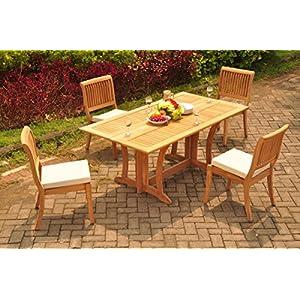 51tKw-hETAL._SS300_ Teak Dining Tables & Teak Dining Sets
