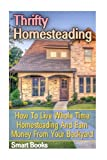 Thrifty Homesteading: How To Live Whole Time Homesteading And Earn Money From Your Backyard