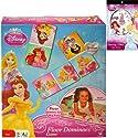 Disney Princess Floor Dominoes Game Gift Set for Kids - 1 Princess Dominos Game (28 Giant Pieces) Plus Princess Temporary Tattoo Sticker Bookの商品画像