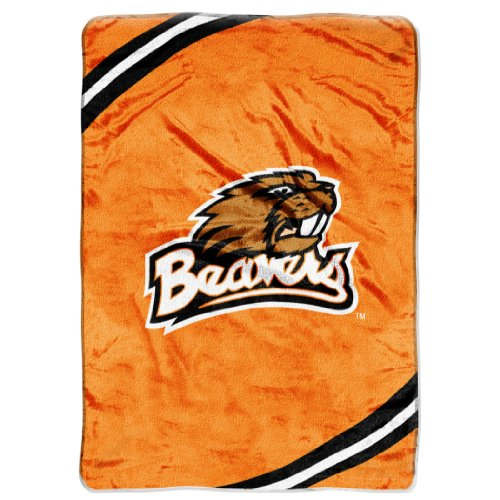 (The Northwest Company Officially Licensed NCAA Boise State Broncos Force Plush Raschel Throw Blanket)