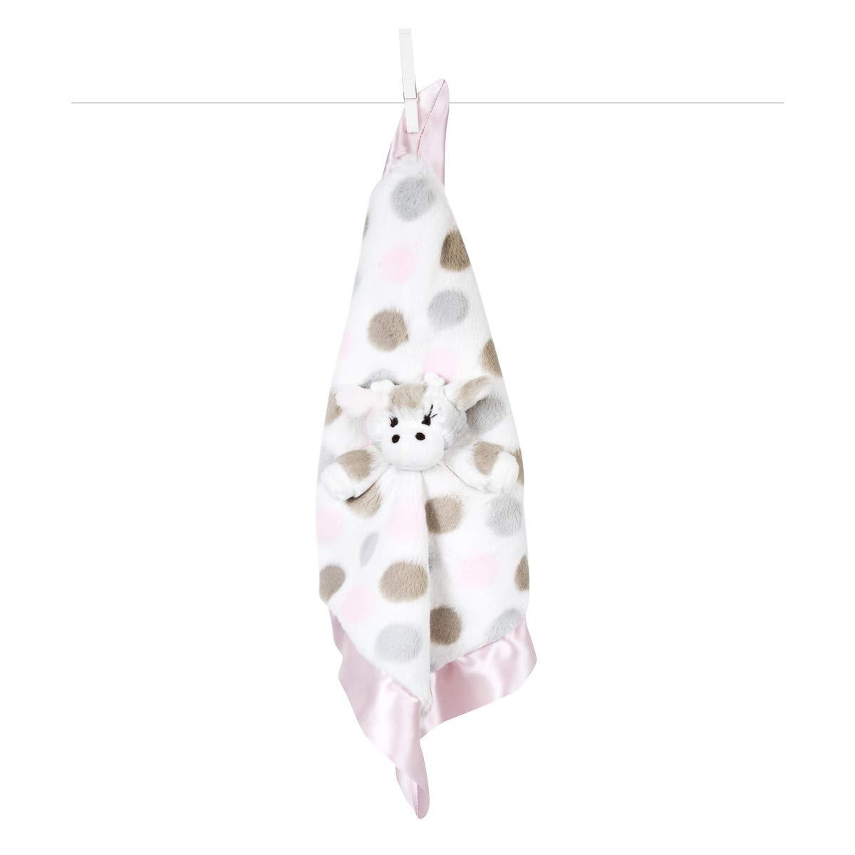 Little Giraffe Little G Blanky - Animal Security Blanket (Pink)