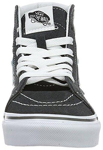 Gris Vans Femme Bottines Chaussures UA Sk8 de en Forme Hi Taille 4ZOwz4xr8q