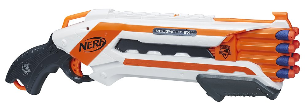 Nerf - Lanzadardos Rough Cut Elite, (Hasbro A1691E35) Hasbro Spain