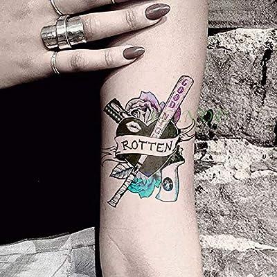 tzxdbh Pegatinas para Tatuajes temporales a Prueba de Agua Pistola ...