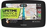 Electronics : Tomtom Go 520 5-inch GPS Navigation Device with Free Lifetime Traffic & World Maps, WiFi-Connectivity, Smartphone Messaging, Voice Control and Hands-Free Calling