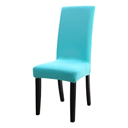 uxcell Dining Chair Cover,Stretch Bar Stool Slipcover Kitchen Chair  Protector Spandex Short Chair Seat Cover for Home Decorative/Dining ...