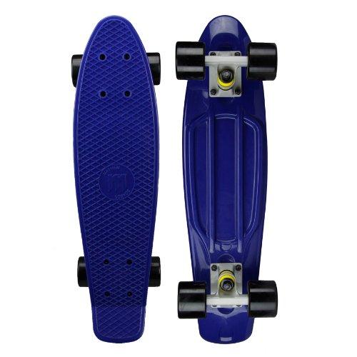 """Zycle Fix Mayhem Penny Style Skateboard (Navy/Black, 27"""")"""