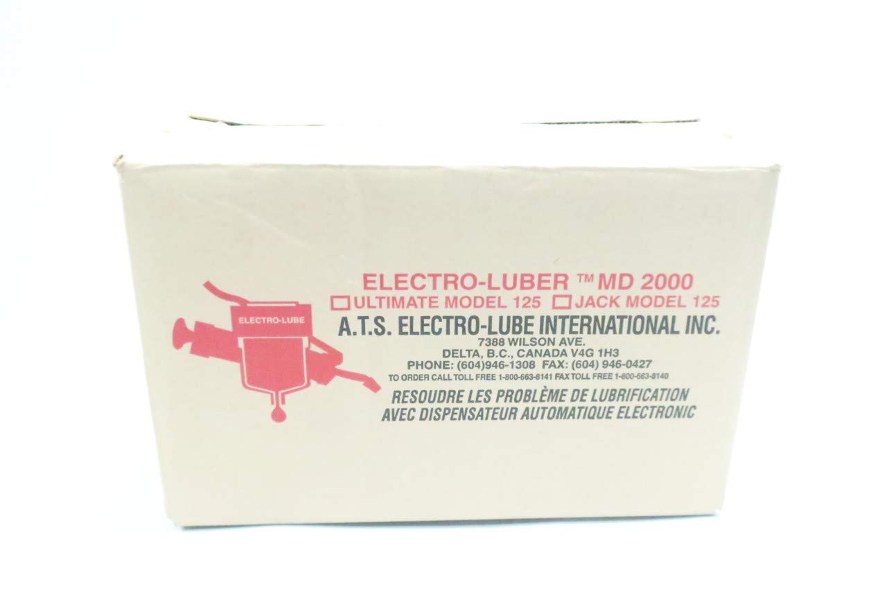 Box of 3 A.T.S ELECTRO-LUBE ULITIMATE 125 Electro-LUBER MD 2000 Automatic LUBER