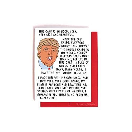 Amazon Com Funny Birthday Card Donald Trump Birthday: Amazon.com: Donald Trump Bragging Card -- Funny Birthday