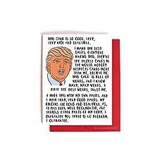 Amazon michael scott the office birthday card handmade donald trump bragging card funny birthday valentines day anniversary card bookmarktalkfo Images