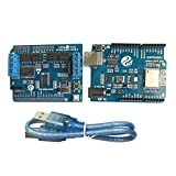 D DOLITY WiFi Robot Controller ARM Board Kit Compatible with Arduino Motors Servo New