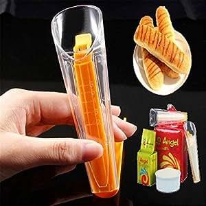 Saver Levadura para hornear de plástico taza de medir levadura seca taza especial con juntas pinza