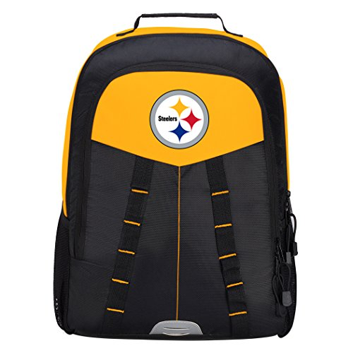 Officially Licensed NFL Pittsburgh Steelers Scorcher Sports Backpack, Black