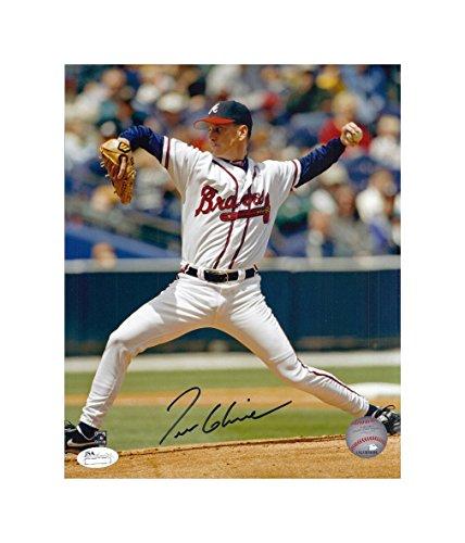 Tom Glavine Autographed Hand Signed Atlanta Braves 8x10 Photo JSA