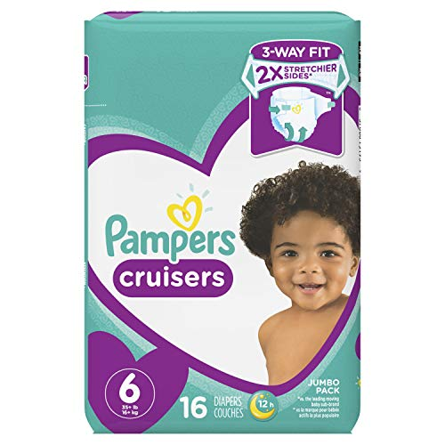 Pampers Cruisers Diapers Size 6, 16 ct