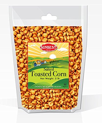 SunBest Corn Nuts Toasted & Salted (Toasted Corn, 3 - Corn Salted