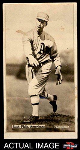 1914 T222 Fatima Joe Bush Philadelphia Athletics (Baseball Card) Dean's Cards 2 - GOOD Athletics