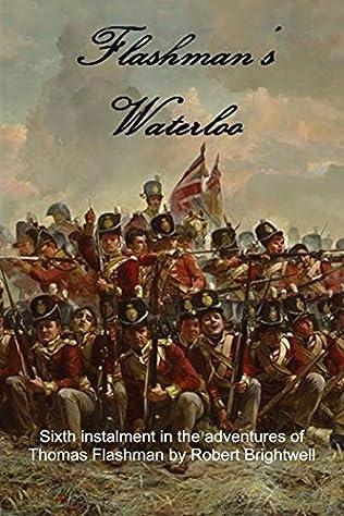 book cover of Flashman\'s Waterloo