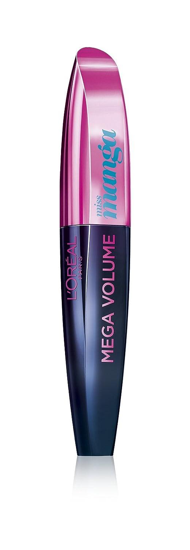 L'Oréal Paris Mega Volume Collagen Mascara Miss Manga, pop turquoise, 1er Pack (1 x 8,5 ml) L' Oréal Paris 3600522424819