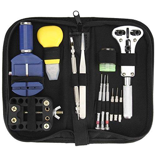 Watch Repair Tool Kit, Danibos Watch Repair Tool Set Case Op