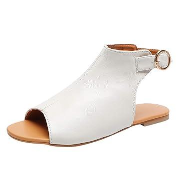 fd4a7b3f9e9ff Amazon.com: ❤ Sunbona Women Flats Sandals Ladies Summer Open Toe ...