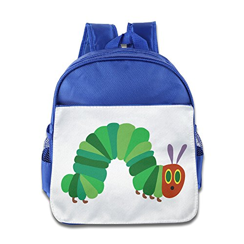 - Discovery Wild Child Toddler Kids Backpack School Bag, The Very Hungry Insect - RoyalBlue