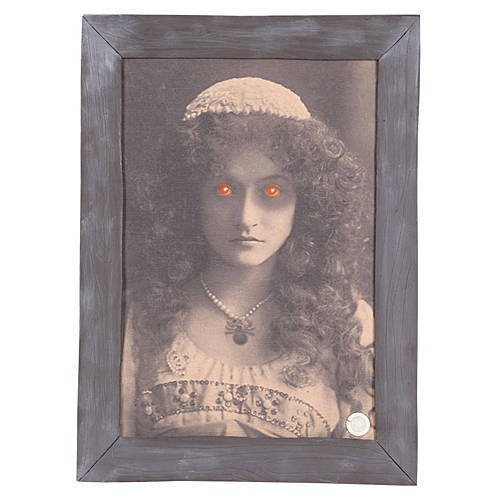 Animated Haunted Frame Decoration (Animated Halloween Pictures)
