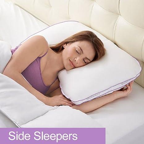 Amazon.com: biosense 2-en-1 almohada para el hombro Side ...