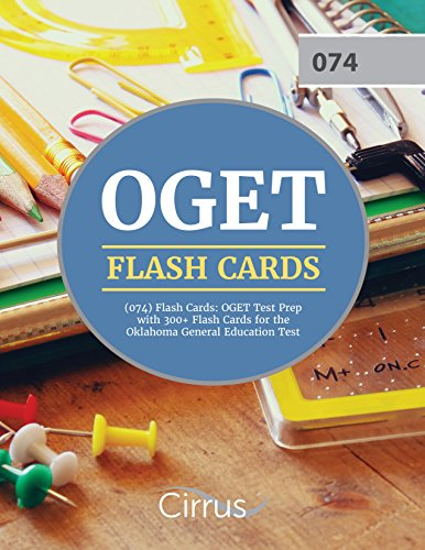 OGET (074) Flash Cards: OGET Test Prep with 300+ Flash Cards for the Oklahoma General Education Test by Cirrus Test Prep