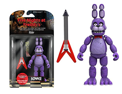 """Funko Five Nights at Freddy's Articulated Bonnie Action Figure, 5"""""""