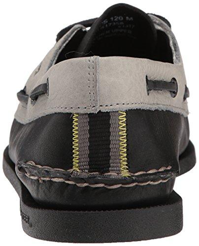 Sperry Top-sider Heren A / O 2-eye Daytona Bootschoen Zwart / Grijs