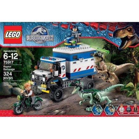 LEGO Jurassic World Raptor Rampage Make Your Own World