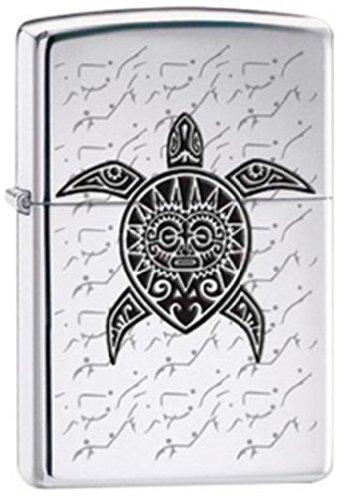 Amazoncom Polynesian Hawaiian Sea Turtle Tattoo Chrome Zippo