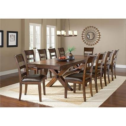 11-Piece Dining Set  sc 1 st  Amazon.com & Amazon.com - 11-Piece Dining Set - Table u0026 Chair Sets