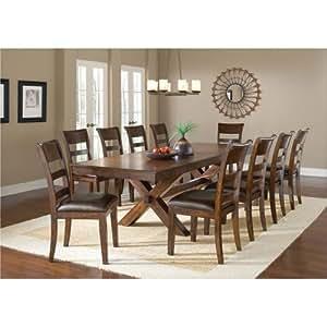 11 piece dining set Amazon.  Hillsdale Furniture 11 Piece Dining Set   Table  11 piece dining set