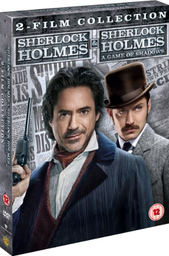 Sherlock Holmes and Sherlock Holmes: A Game of Shadows - 2 Film Collection [DVD] [2009] [UK ()